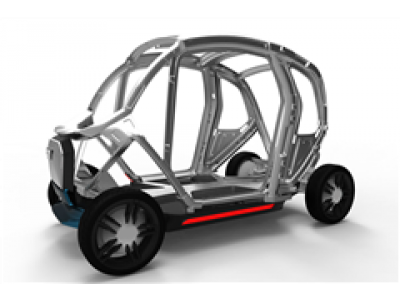 河豚直播体育官网材料一体车身设计