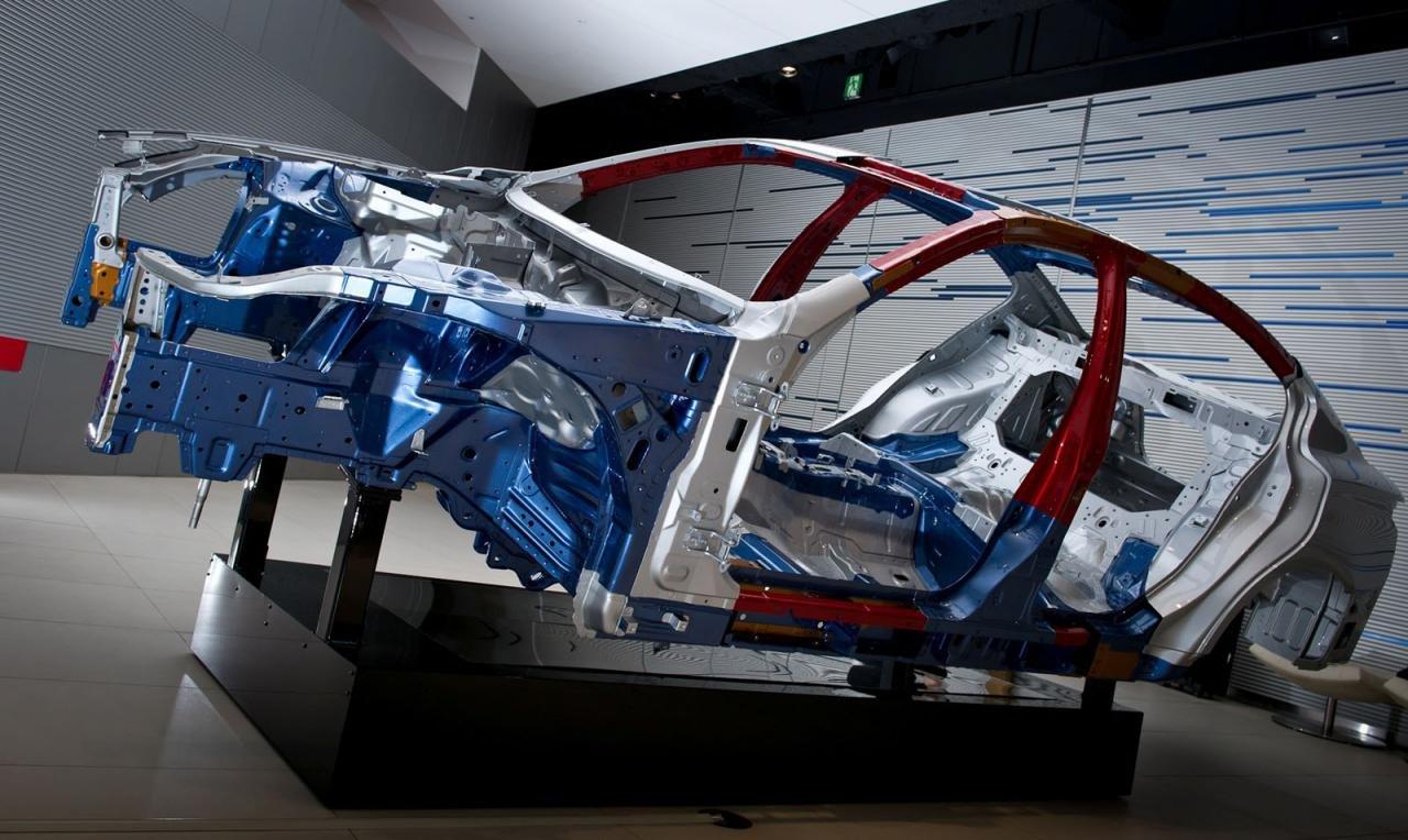 高强钢,汽车高强度钢,汽车轻量化,全铝车身设计,超高